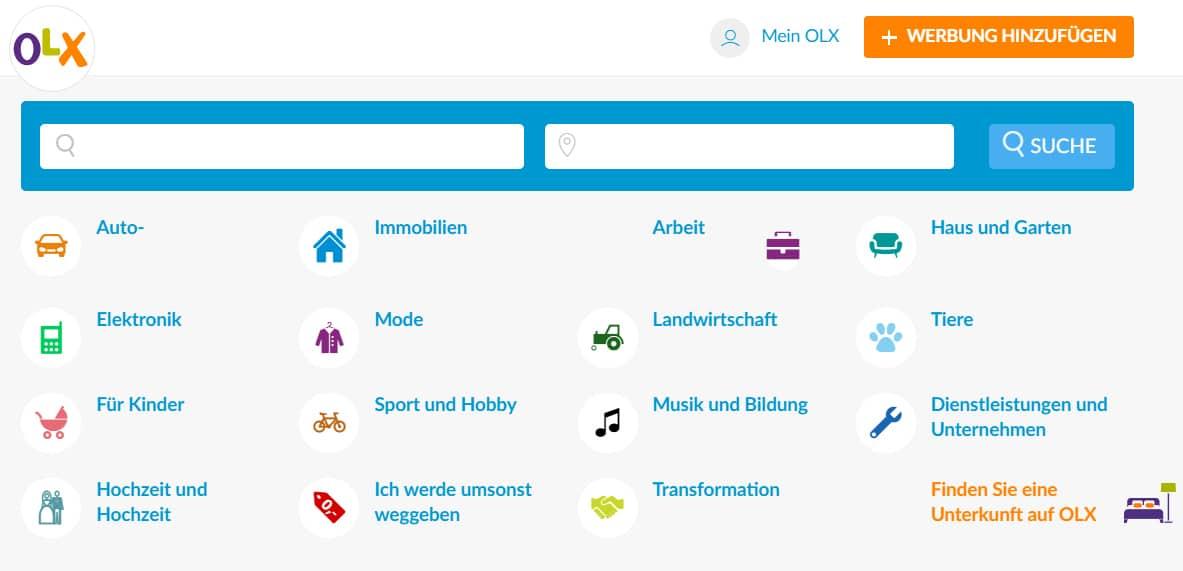 Niemieckie Strony Z Ogloszeniami Odpowiednik Olx Pelna Lista